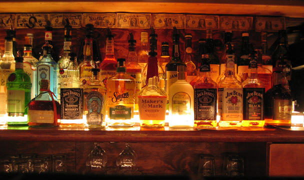The bar at Superfine