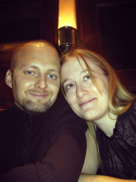 Harri Kallio and Kristiina Wilson