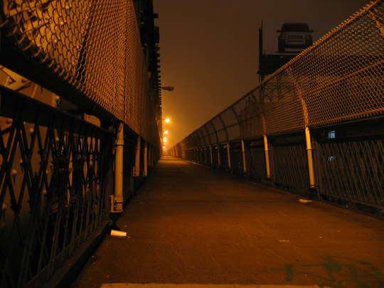 Manhattan Bridge at 1:30 AM
