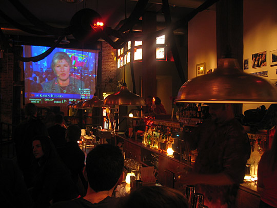 Election results at Superfine