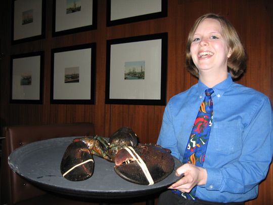 Legal Sea Foods 10-pound lobster