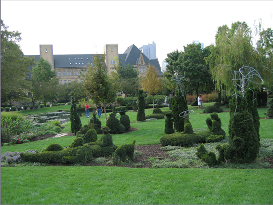 Topiary Garden in Columbus, OH