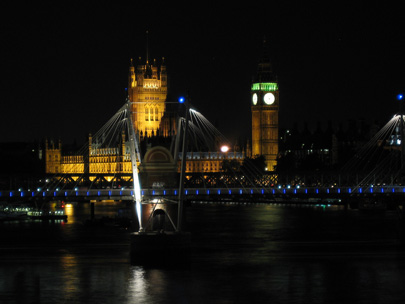 Big Ben and Parliament at night