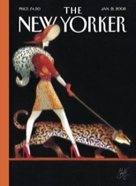 The New Yorker cover of 1/22/2008