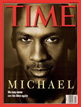 Time cover of Michael Jordon by Walter Iooss Jr.