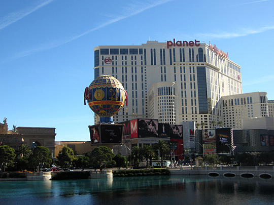 Planet Hollywood in Las Vegas