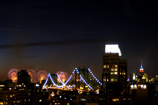 2009 Fireworks in New York City