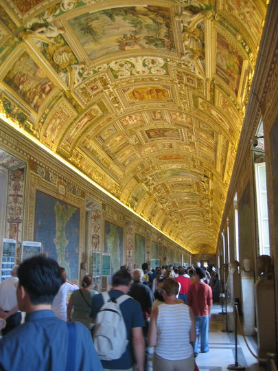 Map Room in the Vatican Museum