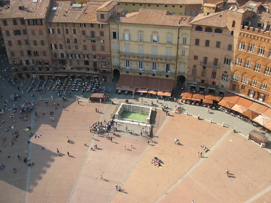 The Piazza in Siena