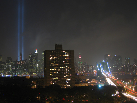 Sept. 11 lights