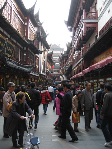 Shops in Yuyuan Gardens