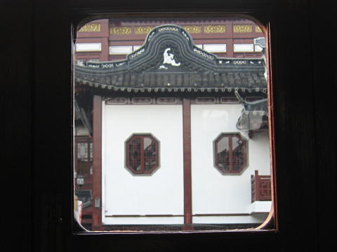 Yuyuan Garden view from teahouse