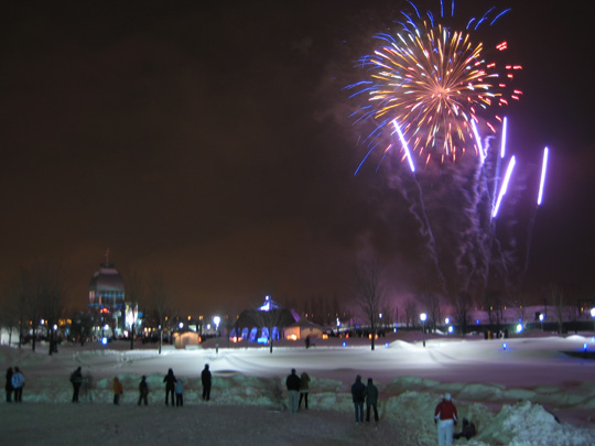 Fireworks at the Montreal All-Nighter