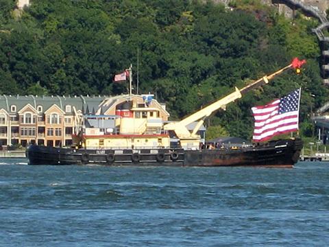 Tugboats on the Hudson River