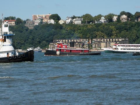 Tug Pegasus on the Hudson River