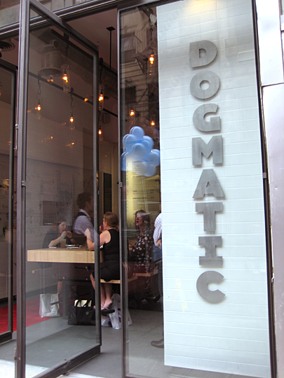 Dogmatic store front