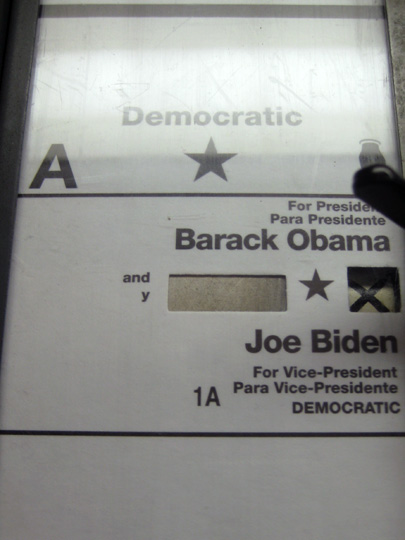 Vote for Obama