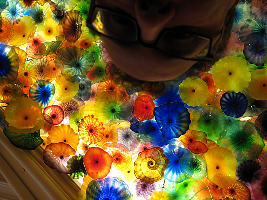 Bellagio Chihuly installation in Las Vegas