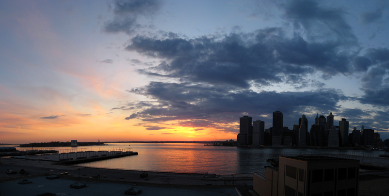 Sunset on the Brooklyn Heights Promenade
