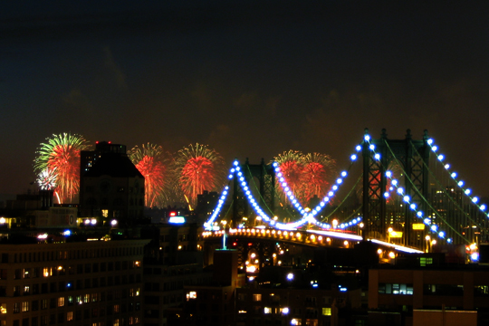 2009 Fireworks in New York City