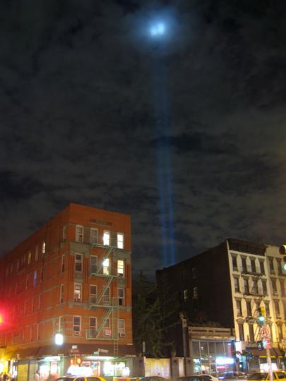 2009 September 11 Tribute in Light