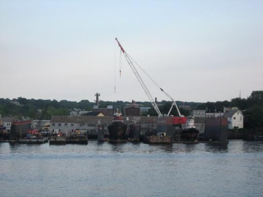 Dry docks in Staten Island