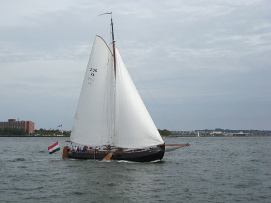 Old style ship