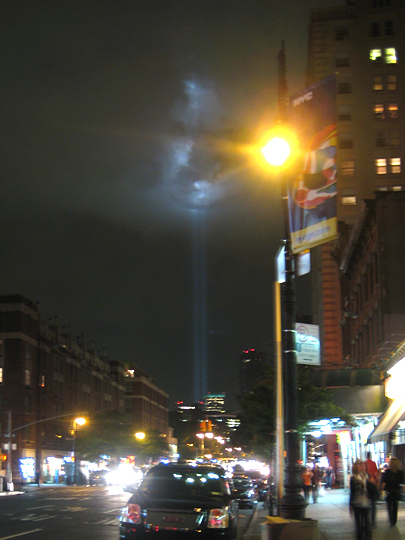 2009 September 11 Tribute in Light