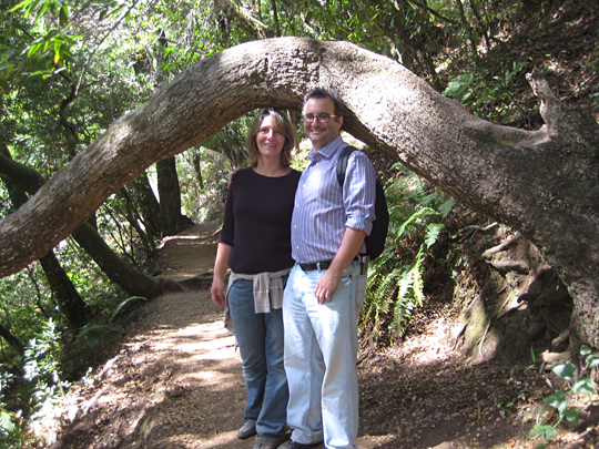 Patti and I at Muir Woods