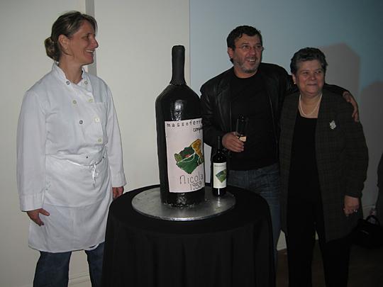 Nicola Marzovilla, Dora Marzovilla, and Patti Jackson